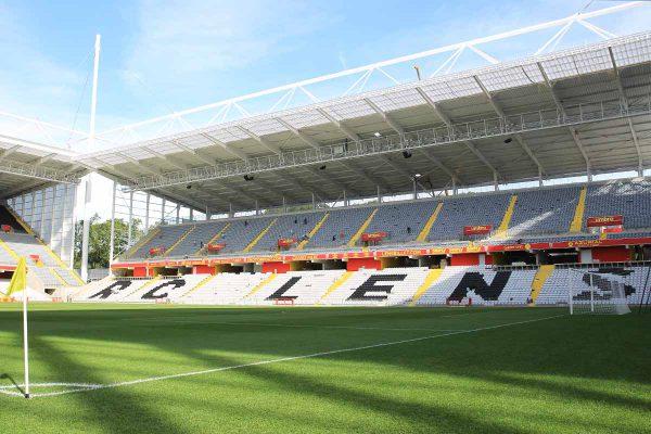 Le RC Lens à domicile mais en maillot extérieur