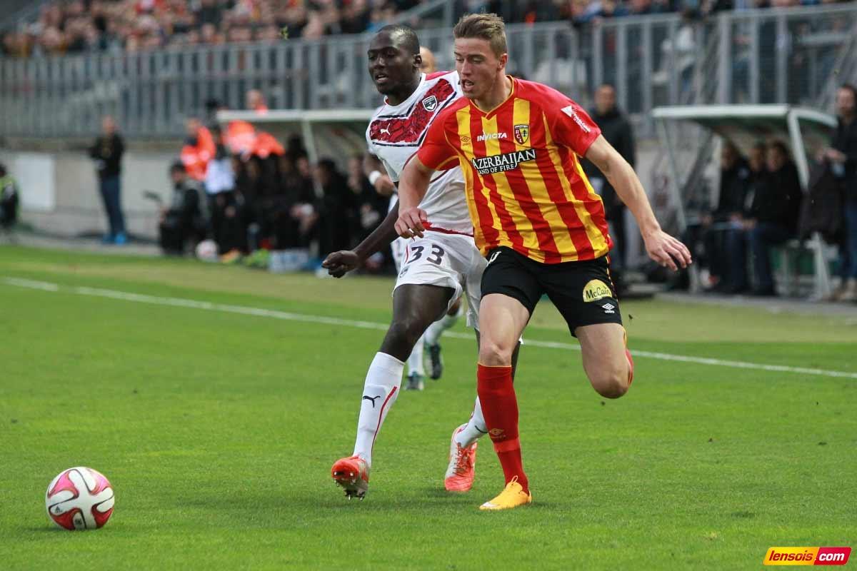 Baptiste Guillaume manquera Valenciennes-RC Lens - Lensois.com