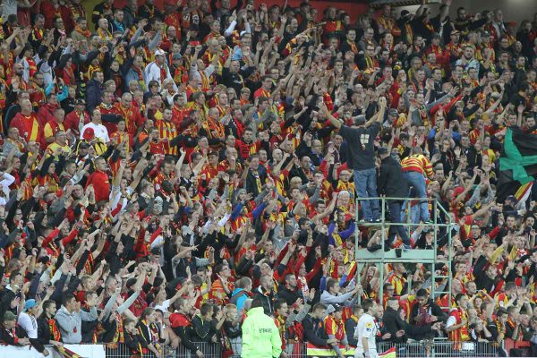 Aucune vente aux guichets le jour du match pour les supporters du RC Lens à la Mosson, un parcage limité à 600 spectateurs
