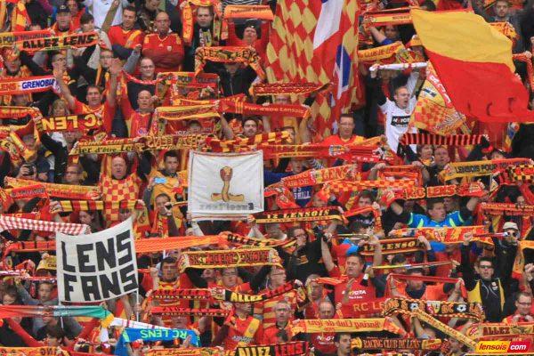 Encouragez le RC Lens à Rennes avec les Atrébates
