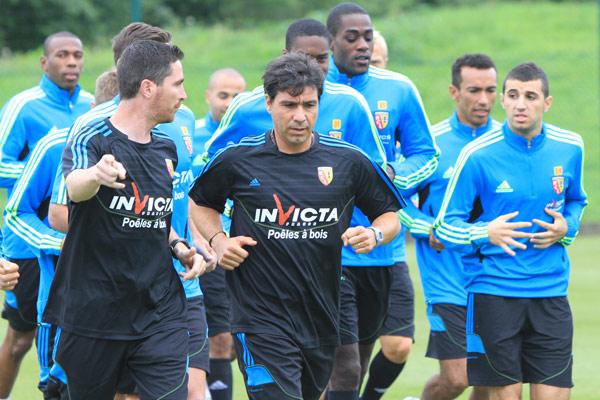 Ex du RC Lens, M. Nogueira a rejoint JL. Garcia à Troyes