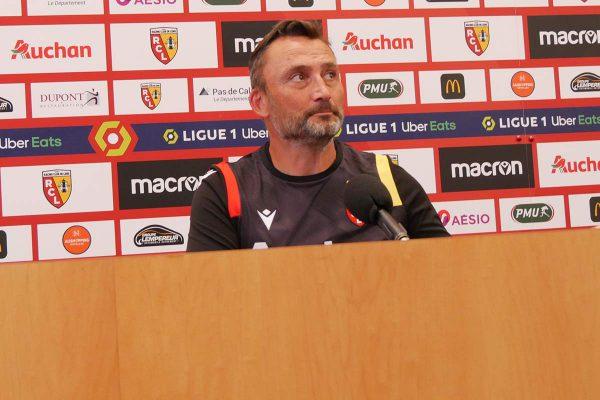Franck Haise : « Envie de voir mes joueurs se lâcher totalement une dernière fois »