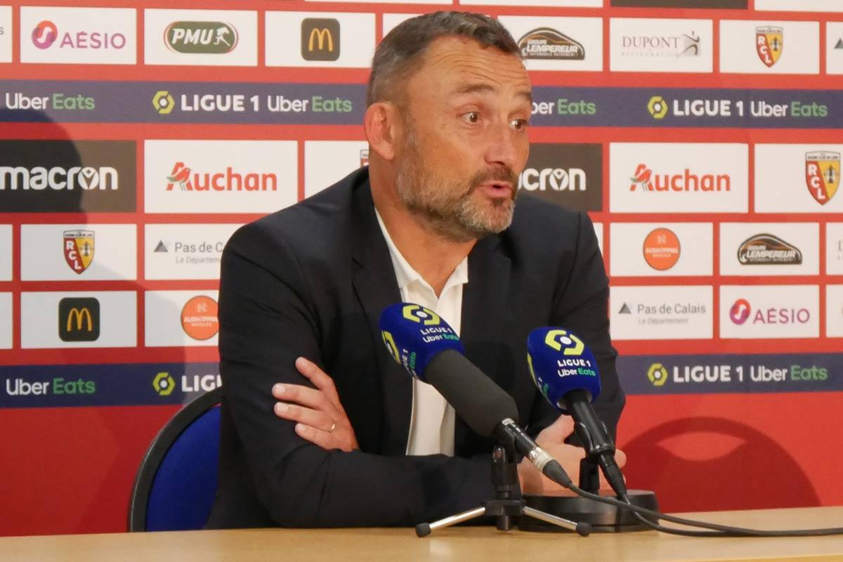 Franck Haise : « On prend trop de buts » - Lensois.com